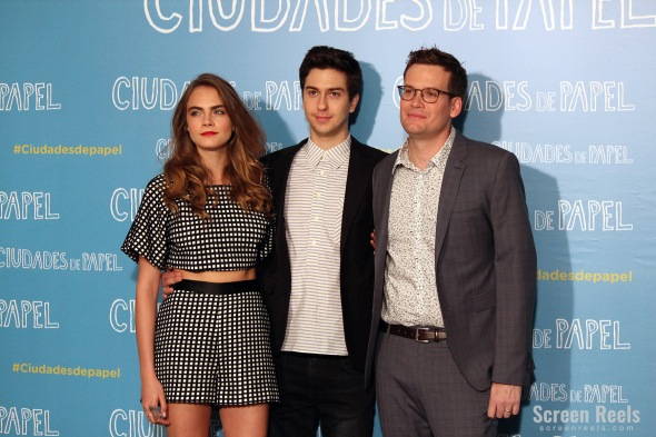Cara-Delevingne-Nat-Wolff-and-John-Green-in-Madrids-Paper-Towns-presentation-Screen-Reels-01